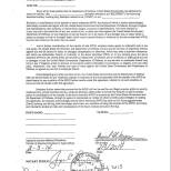 Convenant Not to Sue with Indemnity Agreement 2-3-14