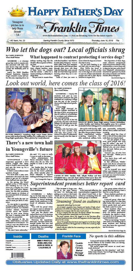 Franklin Times Page 1 6-6-16 png