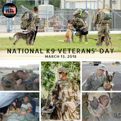 National K9 Veterans' Day 2018